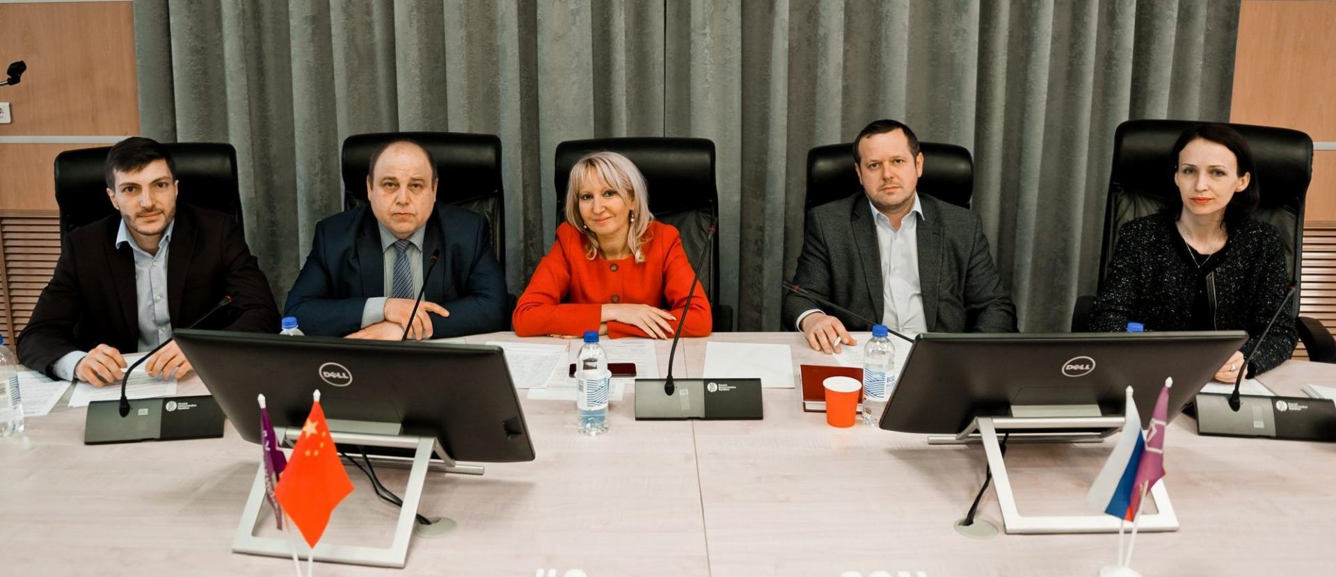 Визит представителей китайских вузов в московский офис CCN